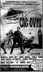 """Afiche promocional de """"Che Ovni"""""""