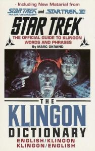 The Klingon Dictionary Por Marc Okrand