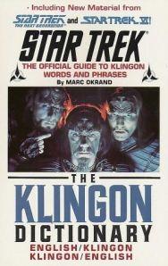 The Klingon Dictionary Por Marc Okrand
